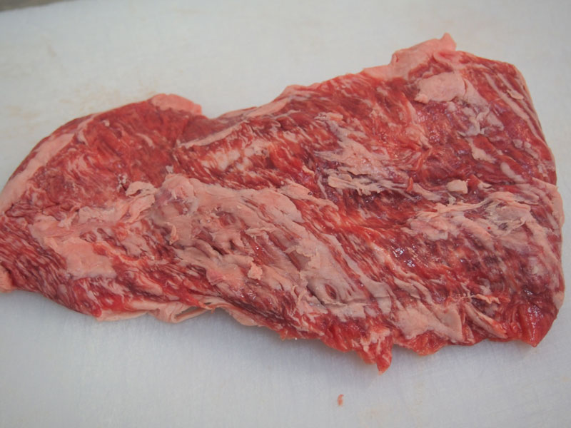Wagyu beef cuts - Flap Meat / Flank Steak
